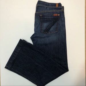 7 for all Mankind Dojo Jeans Size 32